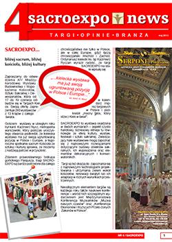 sacroexpo 2013 news