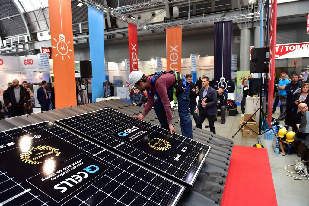 enex 2018 - panele słoneczne