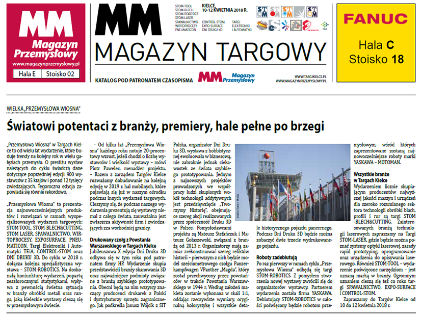 stom 2018 - mm magazyn targowy
