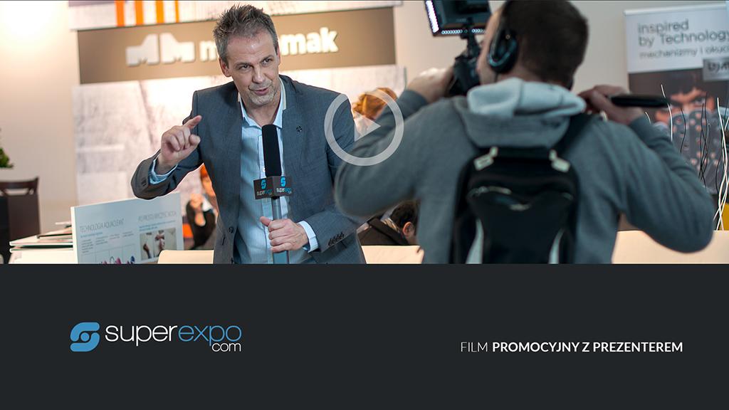 usługi marketingowe - superexpo - Film promocyjny z prezenterem