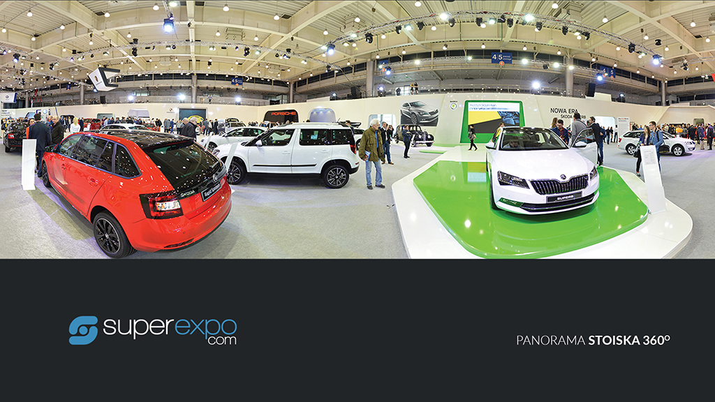 usługi marketingowe - superexpo - Panorama stoiska 360
