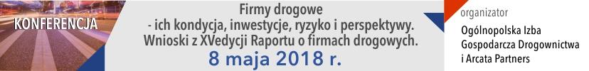 Autostrada 2018 - konferencja Firmy Drogowe