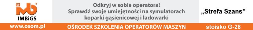 autostrada 2018 - konkurs ośrodka szkolenia operatorów maszyn