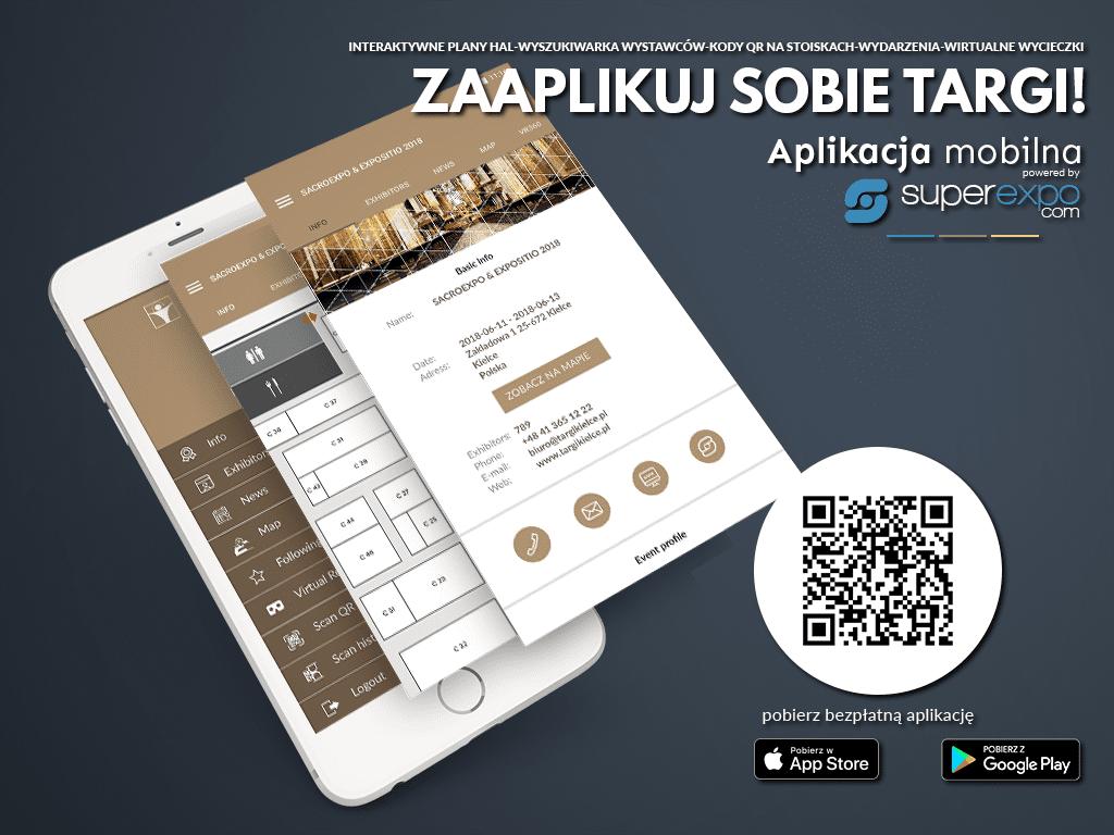 sacroexpo 2018 - aplikacja mobilna