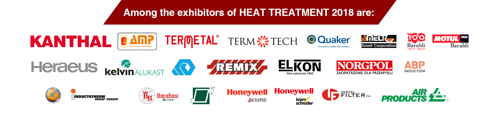 heat treatment 2018 - among the exhibitors