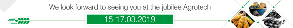 agrotech 2019 - we look forward to seeing you