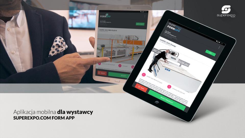 usługi marketingowe - superexpo - Aplikacja dla wystawców