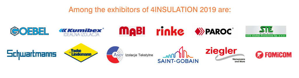 4insulation 2019 - among the exhibitors