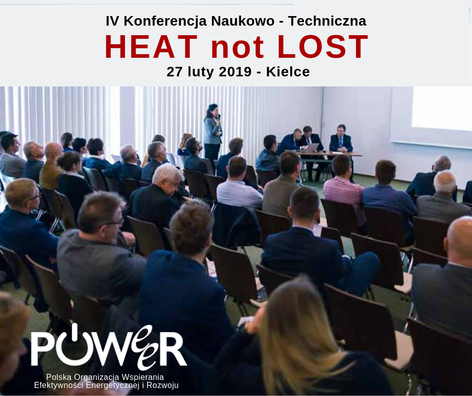 4insulation 2019 - konferencja Heat not Lost