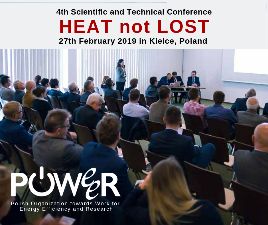 4insulation 2019 - Conference Heat not Lost