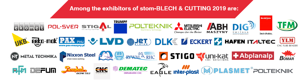 stom-blech 2019 - among the exhibitors are