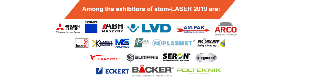 stom-laser 2019 - among the exhibitiors are