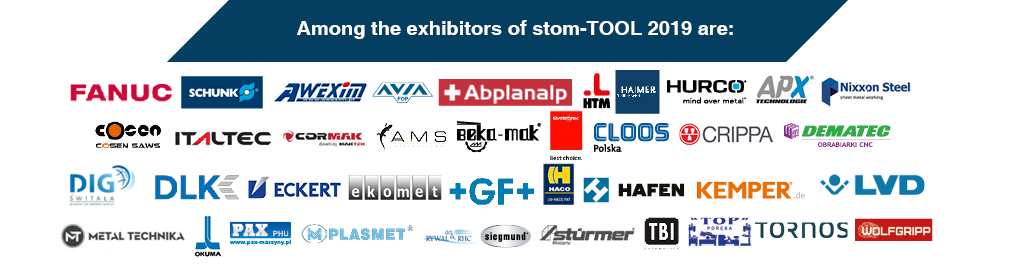 stom-tool 2019 - among the exhibitors are