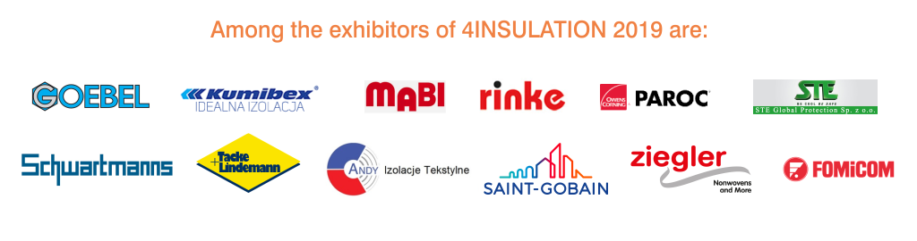 4insulation 2019 - among the exhibitors
