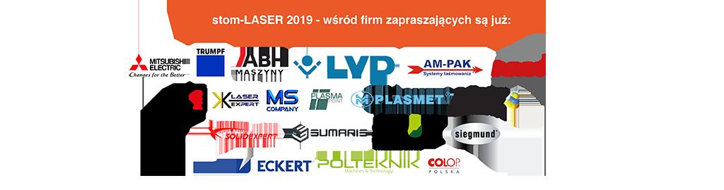 stom-laser 2019 - wśród firm zapraszających są już