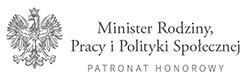 minister rodziny pracy i polityki społecznej - patronat honorowy