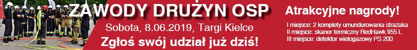 IFRE 2019 - zawody OSP - baner