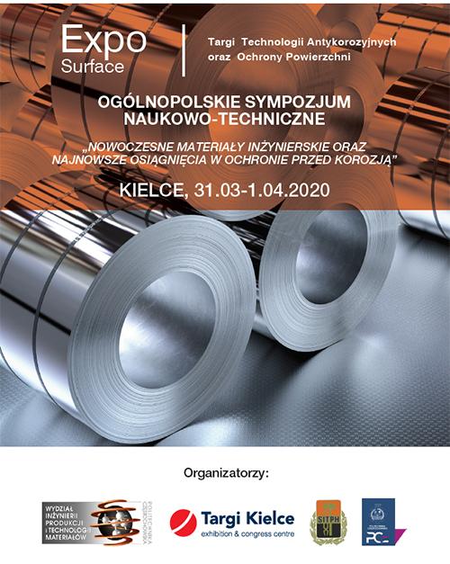 expo-surface 2019 - ogólnopolskie sympozjum naukowo-techniczne