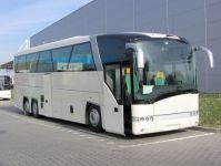 Two electric solaris buses for blood donors