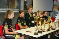 THE CYCLING-CLASS PUPILS CALL IN TARGI KIELCE