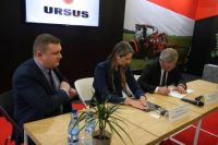 AT THE AGROTECH URSUS SIGNS THE AGREEMENT WITH MESKO-ROL