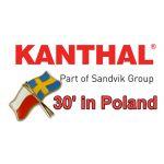 30 lat przedstawicielstwa firmy KANTHAL w Polsce