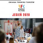 Fashion for Kids jesienią 2020 w Targach Kielce