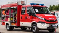 A LIGHT FIRE FIGHTING AND RESCUE VEHICLE SHOWCASED AT IFRE-EXPO