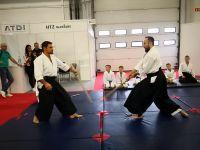 Pokaz aikido dzieci i dorosłych na Dniu Otwartym MSPO