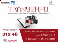 TRANSEXPO z promocją w Brukseli