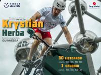 Krystian Herba zaprezentuje rowerowe show w Targach Kielce