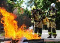 Pokazy poligonowe FIRE-MAX w Targach Kielce