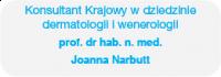 atopsoria - patronat - konsultant krajowy w dziedzinie dermatologii i wenerologii