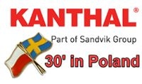 30 YEARS OF KANTHAL REPRESENTATION IN POLAND
