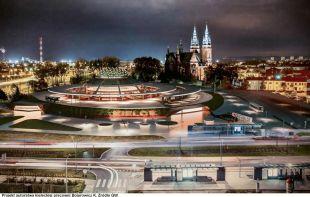 wizualizacja nowego dworca autobusowego w Kielcach
