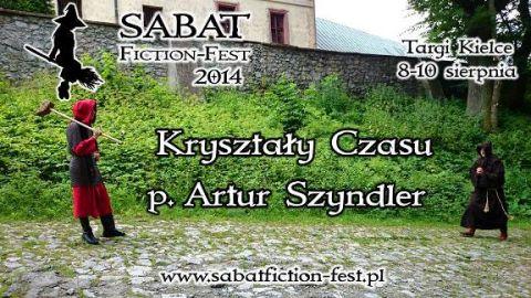 Spotkanie z Arturem Szyndlerem podczas Sabat Fiction Fest