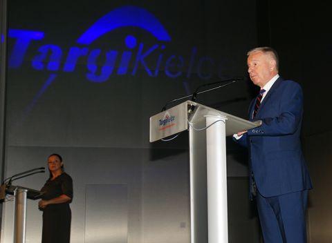 Targi uroczyście otworzył Prezes Zarządu Izby Gospodarczej Gazownictwa Mirosław Dobrut