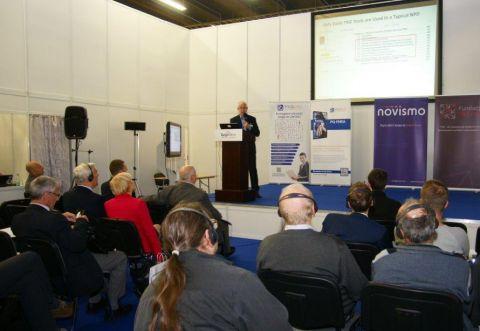 Duże zainteresowanie wzbudzał wykład dr Olega Abramova