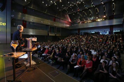 """Konferencja zainicjowana przez Stowarzyszenie Integracja Europa – Wschód, Targi Kielce oraz ukraińska organizacja Winnickie Regionalne Centrum Informacji """"Kreatyw"""""""