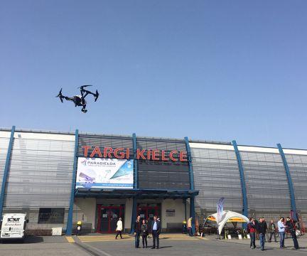 Podczas PARAGIEŁDY można było zobaczyć drony w akcji