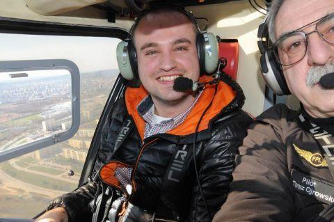 Bartłomiej Terlecki z Zespołu Organizacji Targów, zdjęcie Tomasza Ojrowskiego