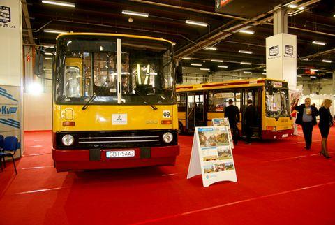 Ikarus 260, jeden z eksponatów wystawy podczas TRANSEXPO 2016