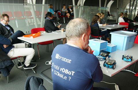 On the second day of INNO-TECH EXPO Grzegorz Troszczyński ran the workshop for teachers