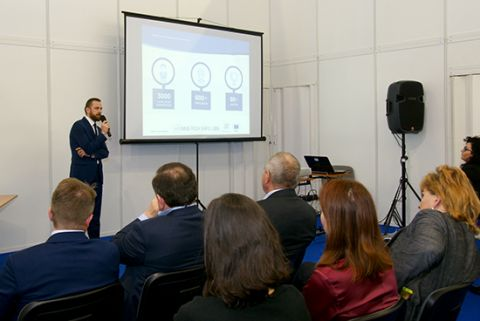 """Your business in Europe"" - this conference was held within the scope of INNO-TECH EXPO at Targi Kielce"