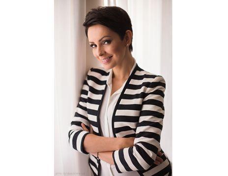 Dorota Gardias - prezenterka i dziennikarka wystąpi w Targach Kielce