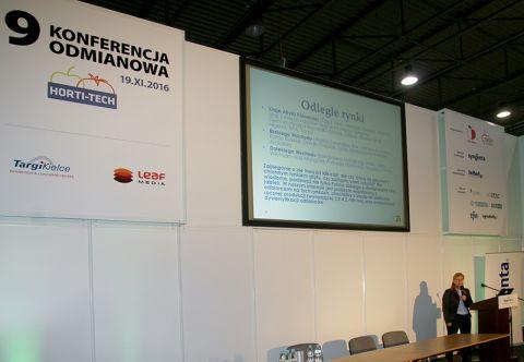 9. Konferencja Odmianowa odbywająca się podczas Targów HORTITECH w Targach Kielce