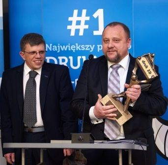 Janusz Wójcik i Paweł Rokita, twórcy sukcesu Dni Druku 3D w Targach Kielce, źródło: http://centrumdruku3d.pl