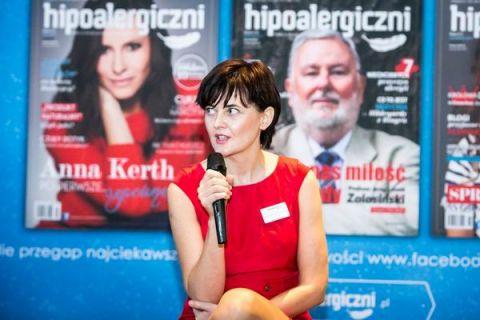 Żaneta Geltz, redaktor naczelna i wydawca Magazynu Hipoalergiczni wystąpi 9 kwietnia 2017 roku podczas Targów EcoTime