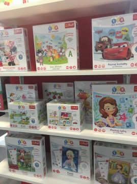"""The Sensory Puzzle is part of a Trefl """"Fun for everyone"""" series.  KIDS' TIME expo is the chance to see the games on show at the A-64 expo stand"""