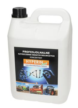 Hyperin Agri to nowy środek do mycia rolniczych maszyn, jaki będzie prezentowany podczas Targów AGROTECH w Kielcach 17-19 marca